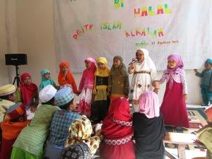 pentas siswa di Halal bi Halal